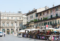 Market in Verona Royalty Free Stock Photos