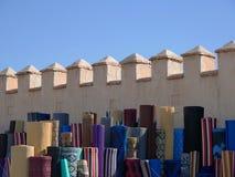 Maket z dywanem w Africa zdjęcia stock