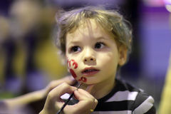 Makeup για το παιδί Στοκ Εικόνες
