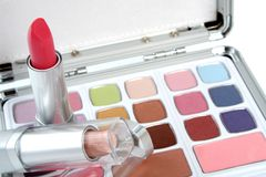 makeup θέστε Στοκ Φωτογραφία