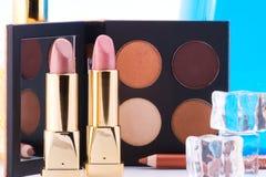 makeup θέστε Στοκ Φωτογραφίες