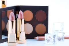 makeup θέστε Στοκ εικόνα με δικαίωμα ελεύθερης χρήσης