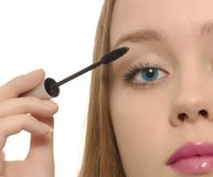 makeup νεολαίες γυναικών Στοκ Φωτογραφία