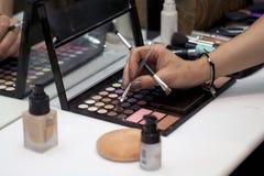 makeup παλέτα Στοκ φωτογραφίες με δικαίωμα ελεύθερης χρήσης
