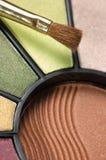 makeup παλέτα Στοκ Εικόνα