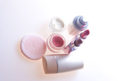 makeup προϊόντα Στοκ φωτογραφίες με δικαίωμα ελεύθερης χρήσης