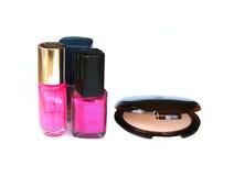 makeup στιλβωτική ουσία καρφιών Στοκ Εικόνες