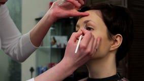 Makeup 15 stock footage