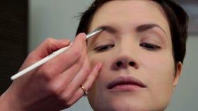 Makeup 16 stock video footage