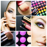 makeup Royaltyfria Bilder