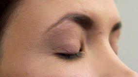 Makeup 18 stock video footage