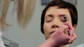 Makeup 20 stock footage