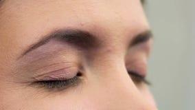 Makeup 21 stock video