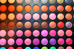 Makeup. Kit by multiple colours Stock Photos