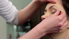 Makeup 25 stock video