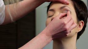 Makeup 26 stock footage