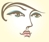 Makeup. Royalty Free Stock Photo
