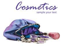 Τσάντα Makeup Στοκ φωτογραφίες με δικαίωμα ελεύθερης χρήσης