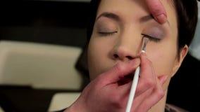 Makeup 30 stock video footage
