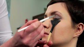 Makeup 31 stock video footage