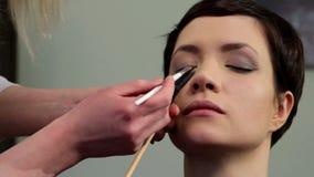 Makeup 32 stock footage