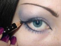 Makeup. Every morning procedure Stock Photos