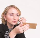 makeup 4 arkivbild