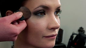 Makeup 43 stock video footage