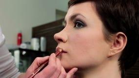 Makeup 44 stock footage