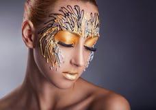 makeup Royalty-vrije Stock Foto's