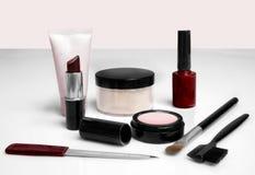 Makeup. Various makeup products Stock Photo
