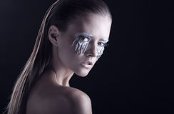 makeup Royaltyfri Foto
