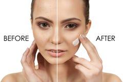 makeup Royaltyfria Bilder