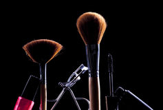 Makeup Accessories Royalty Free Stock Photos