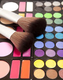 Makeup accessories Royalty Free Stock Photo