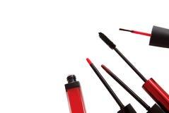 Makeup accessories Stock Photo