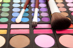 Makeup accessories Stock Photo