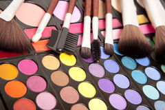 Makeup accessories Royalty Free Stock Photography