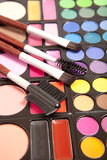 Makeup accessories Stock Photography