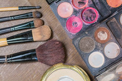 Makeup accessories. Royalty Free Stock Images