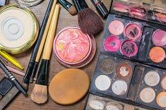 Makeup accessories. Stock Photos
