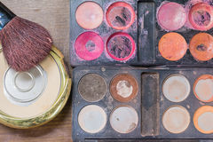 Makeup accessories. Royalty Free Stock Photos