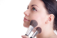 Makeup artist Royalty Free Stock Photography