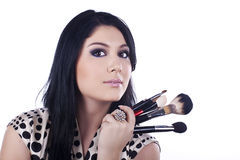 Makeup artist Stock Photos