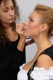 Makeup artist Royalty Free Stock Photo