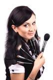 Makeup artist Stock Photo