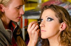 Makeup artist Stock Images