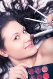 Makeup artist Stock Image