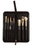 Makeup artist brush kit Royalty Free Stock Images