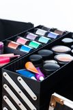 Makeup artist case Royalty Free Stock Photos